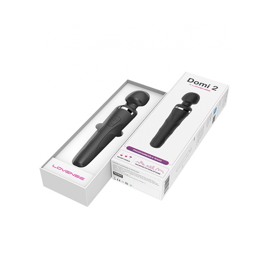 Lovense - Domi 2 Bluetooth Smart Wand Massager Vrouwen Speeltjes