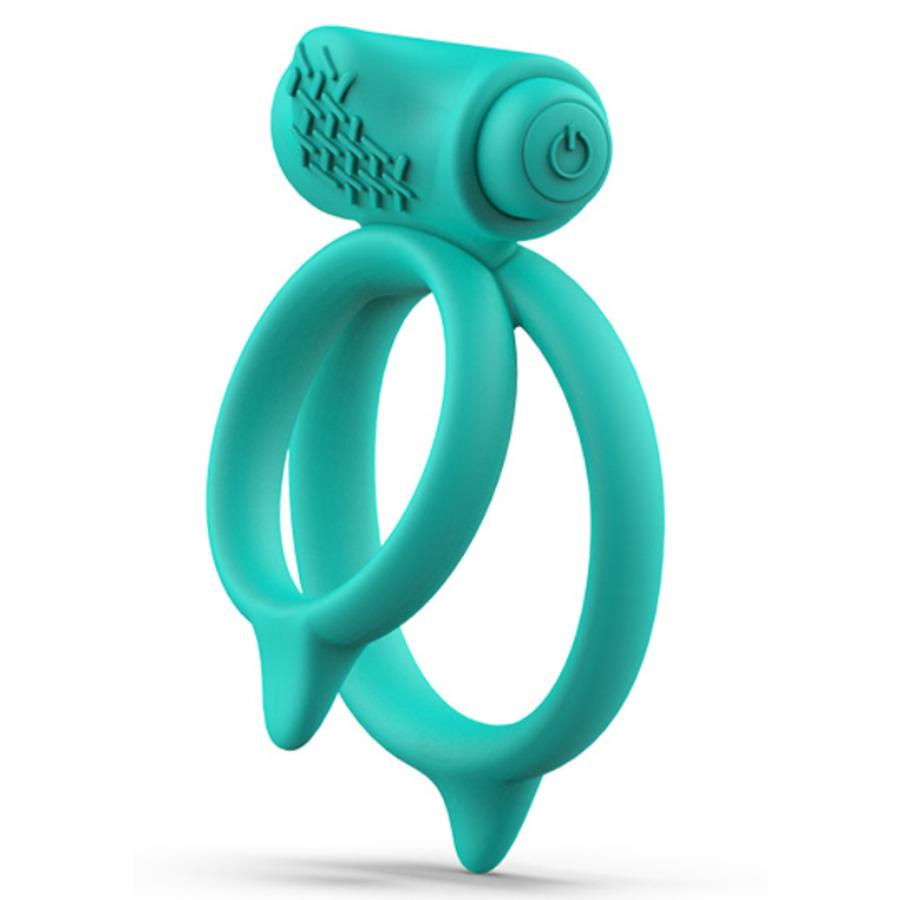 B Swish - BCharmed Basic Plus Duale Vibrerende Cock Ring  Mannen Speeltjes