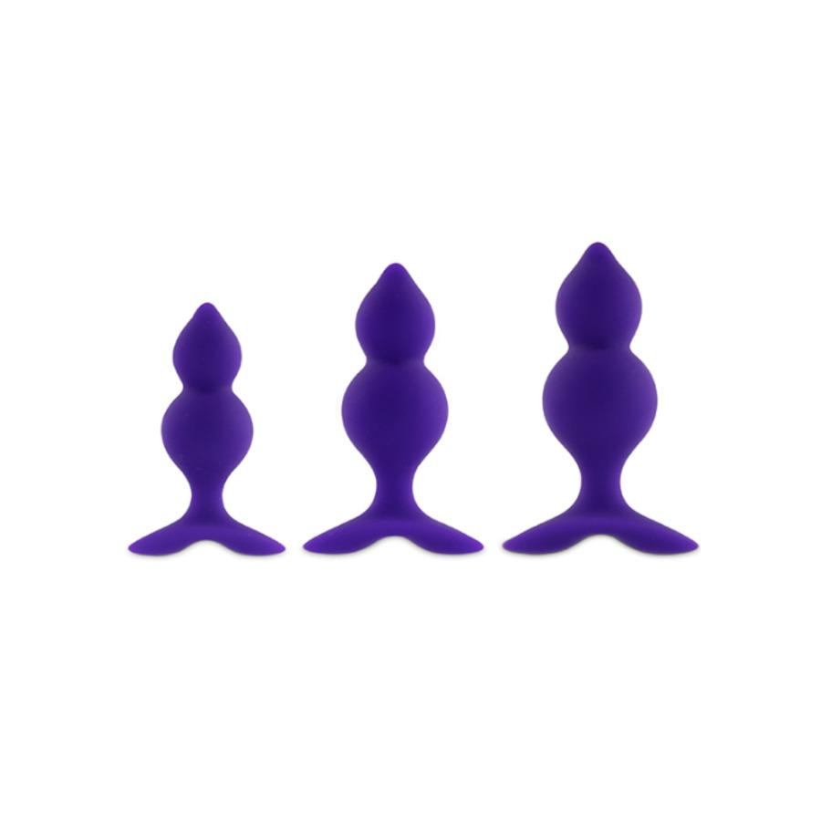 Feelztoys - Bibi Twin Butt Plug Set Anale Speeltjes