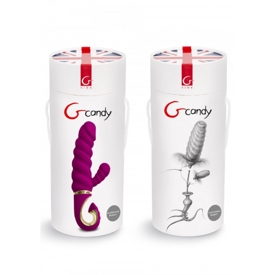 GVibe - G Candy USB-Oplaadbare Siliconen Vibrator Vrouwen Speeltjes