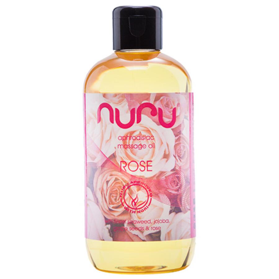Nuru - Massage Oil Rose 250 ml Accessoires