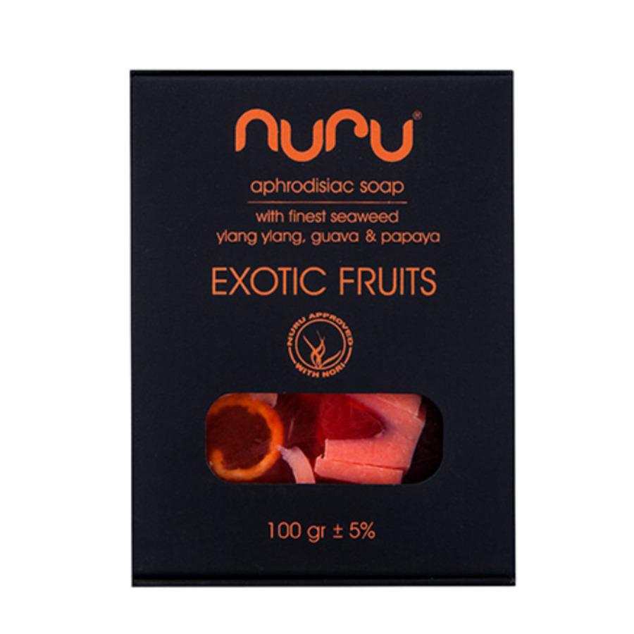 Nuru - Handmade Natural Soap Exotic Fruits 100 gr Accessoires