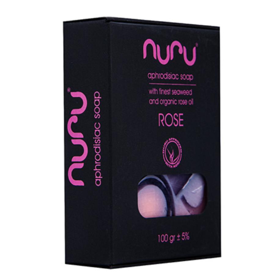 Nuru - Handmade Natural Soap Rose 100 gr Accessoires