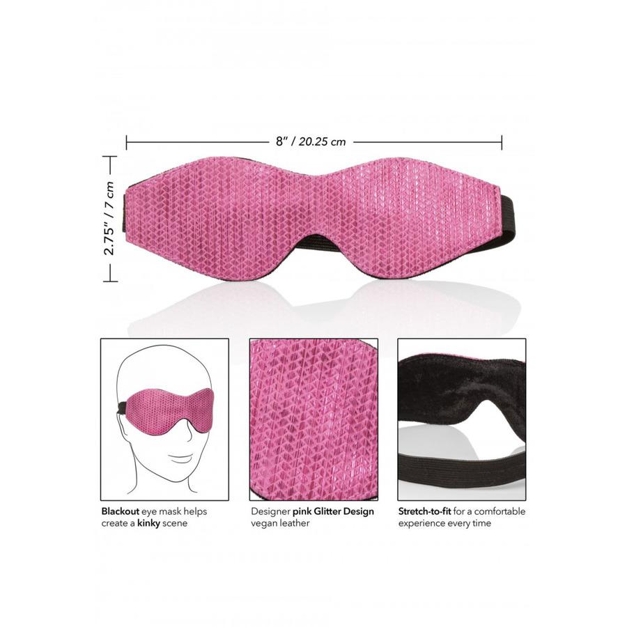 CalExotics - Tickle Me Pink Eye Mask SM
