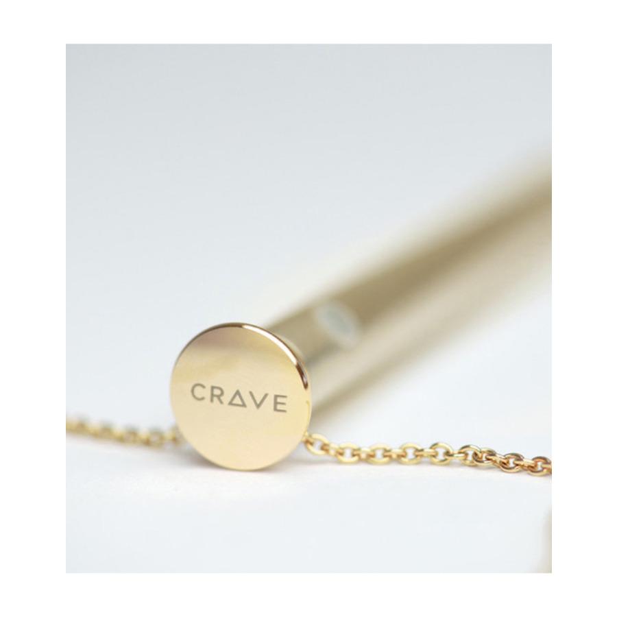 Crave - Vesper Vibrator Necklace Gold Vrouwen Speeltjes