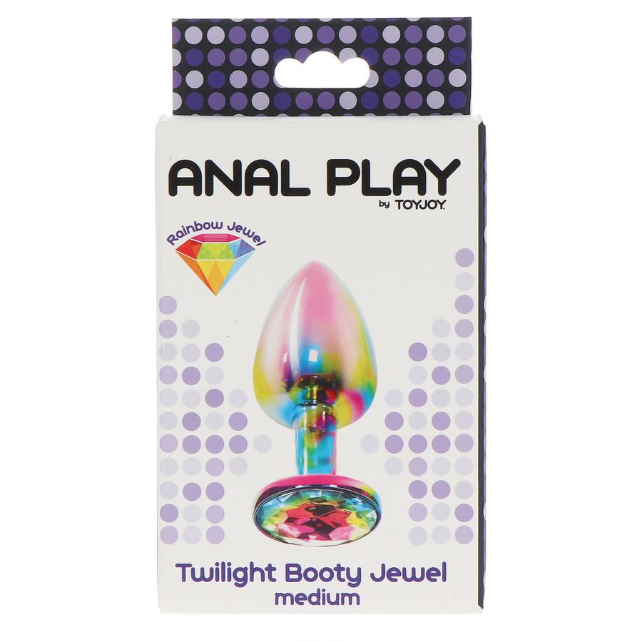 TOYJOY - Twilight Booty Jewel Butt Plug Medium Anale Speeltjes