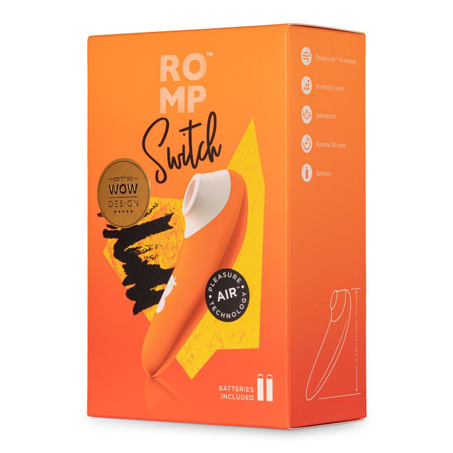 ROMP - Switch Pleasure Air Technology Clitoris Stimulator Vrouwen Speeltjes