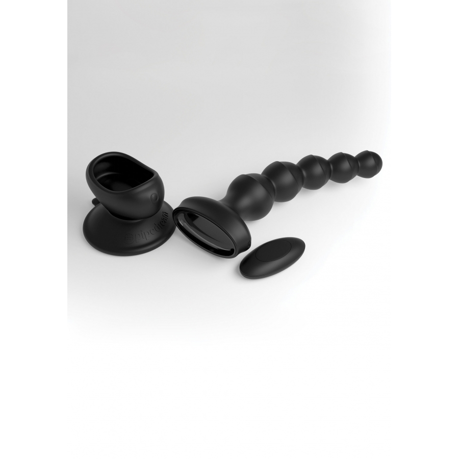 Pipedream - 3Some by Pipedream Wall Banger Beads Plug Met Zuignap Anale Speeltjes