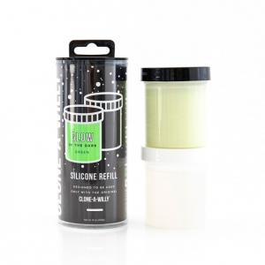 Clone-A-Willy - Refill Glow in the Dark Siliconen Navulling Accessoires