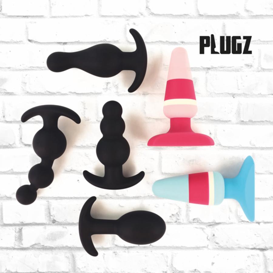 FeelzToys - Plugz Butt Plug Zwart Nr. 3 Anale Speeltjes