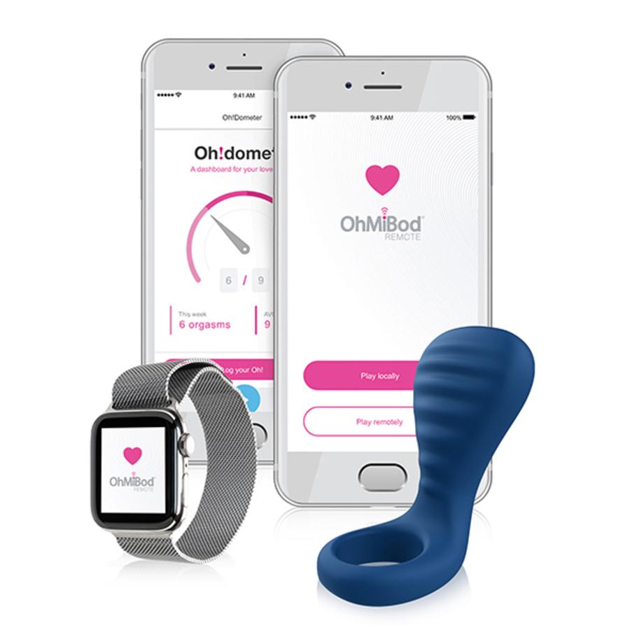 OhMiBod - BlueMotion Nex|3 App Bestuurbare Penis Ring Mannen Speeltjes
