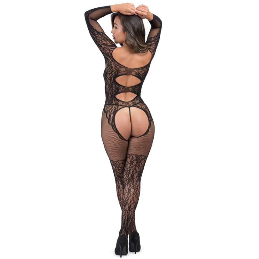 Fifty Shades of Grey - Captivate Spanking Bodystocking One Size Lingerie