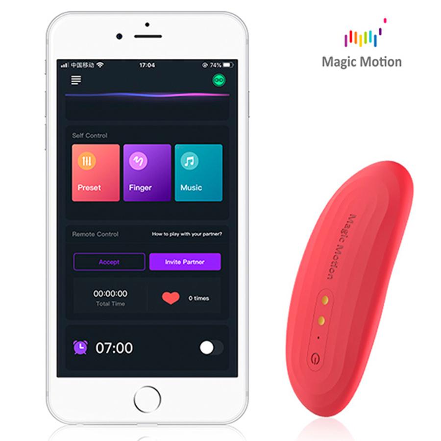 Magic Motion - Nyx Smart Panty App Bestuurbare (wekker)Vibrator Vrouwen Speeltjes