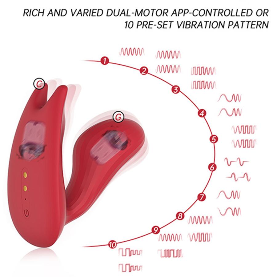 Magic Motion - Umi Smart Panty App Bestuurbare Duale Motor Vibrator Vrouwen Speeltjes