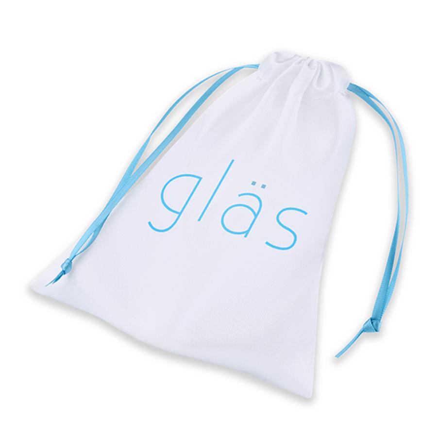 Glas - Rosebud Glazen Butt Plug Anale Speeltjes