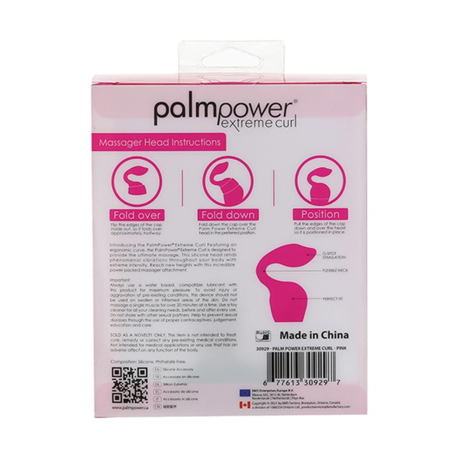 PalmPower - Extreme Curl Opzetstuk voor de Extreme Power Wand Vrouwen Speeltjes