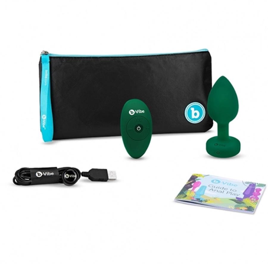 B-Vibe - Vibrerende Juwelen USB-oplaadbare Anale Plug M/L Anale Speeltjes