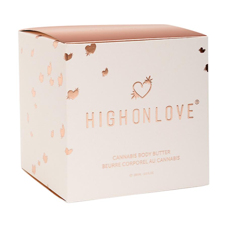 HighOnLove - Cannabis Body Butter 200 ml Accessoires