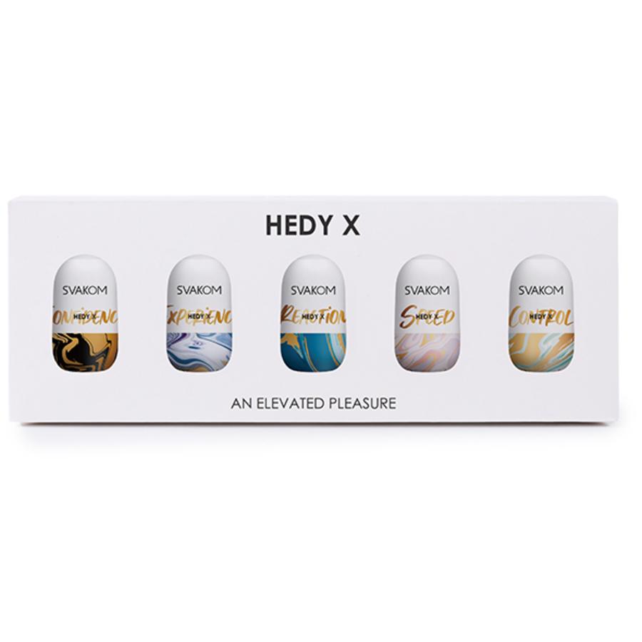 Svakom - Hedy X Masturbator 5-pack Mixed Textures Masturbatie Set Mannen Speeltjes