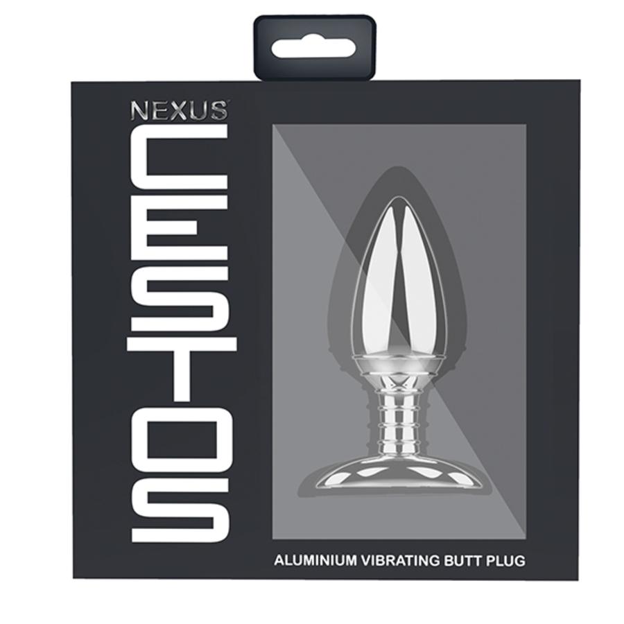 Nexus - Cestos Aluminium Vibrerende Butt Plug met Afstandbediening Anale Speeltjes