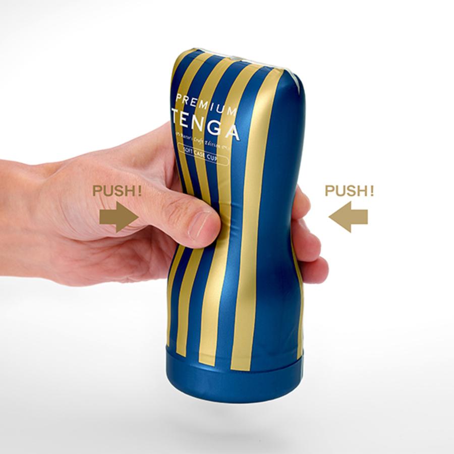 Tenga - Premium Series Rolling Head Cup Masturbator Mannen Speeltjes
