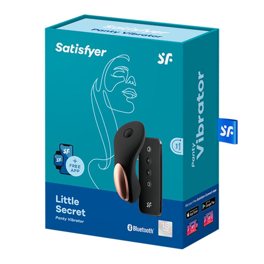 Satisfyer - Little Secret Panty Vibrator App Bestuurbaar Vrouwen Speeltjes