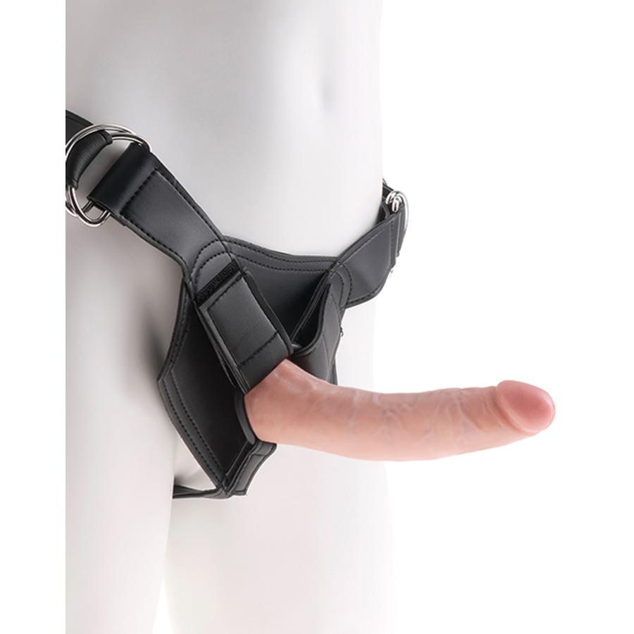 Pipedream - King Cock Strap-On Harnas met Dildo 18 cm Vrouwen Speeltjes