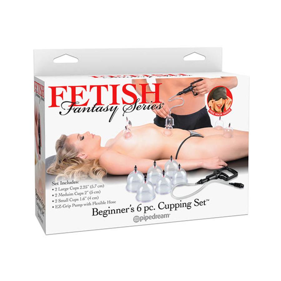Fetish Fantasy - Beginner's 6pc. Cupping Set Vrouwen Speeltjes