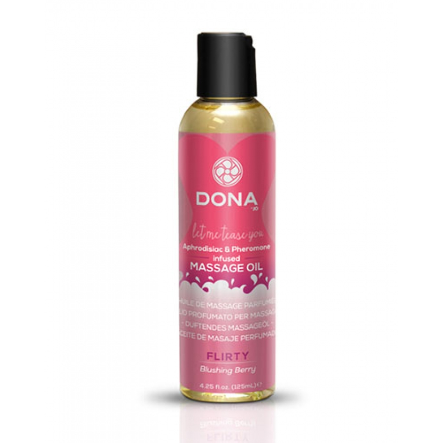 Dona - Scented Massage Olie Blushing Berry Accessoires