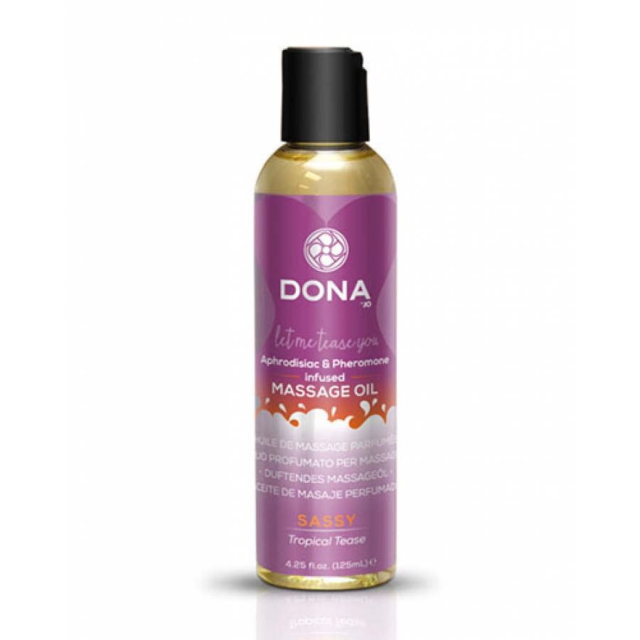Dona - Scented Massage Olie Tropical Tease Accessoires