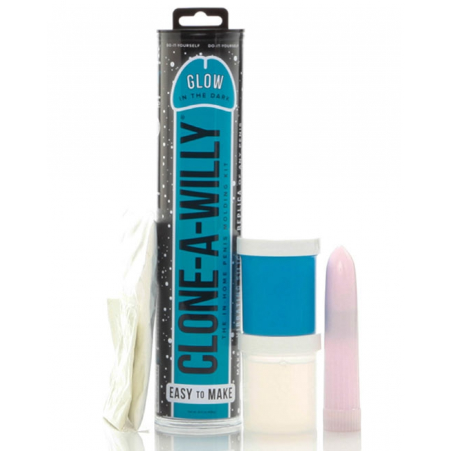 Clone A Willy Kit - Glow In The Dark Kit Vrouwen Speeltjes