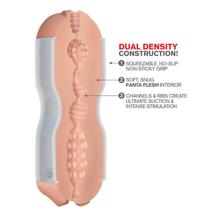 Pipedream Extreme - Tight Grip Vagina & Mond Masturbator Mannen Speeltjes