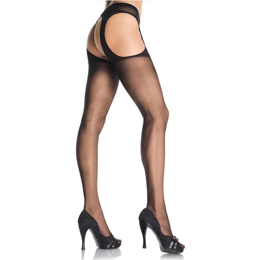Leg Avenue - Sheer Suspender Pantyhose Lingerie