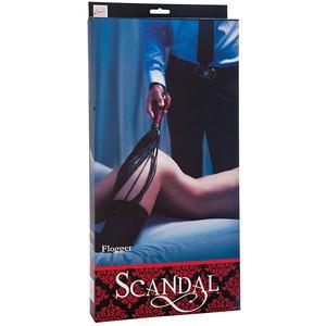 Scandal - Flogger Zwart/Rood SM