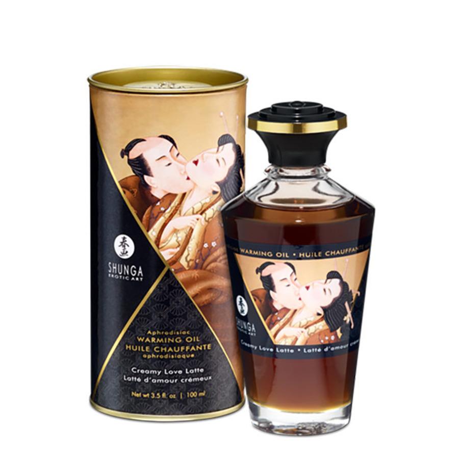 Shunga - Aphrodisiac Verwarmende Olie Romige Latte 100 Ml Accessoires