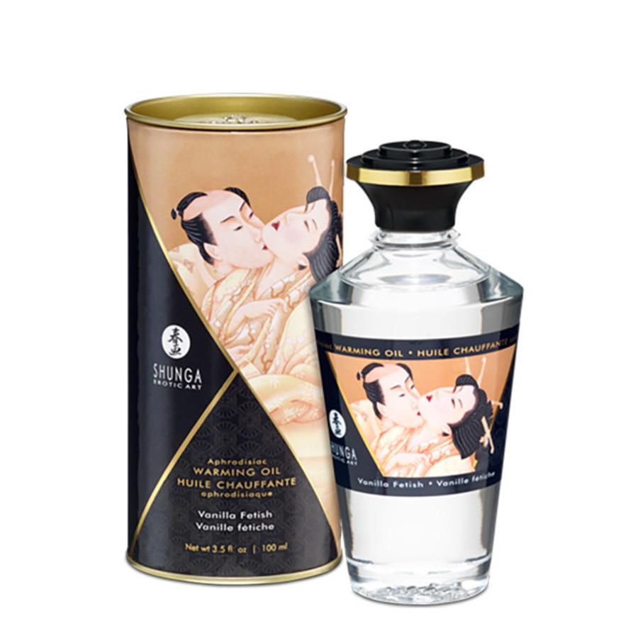 Shunga - Aphrodisiac Verwarmende Olie Vanille 100 Ml Accessoires