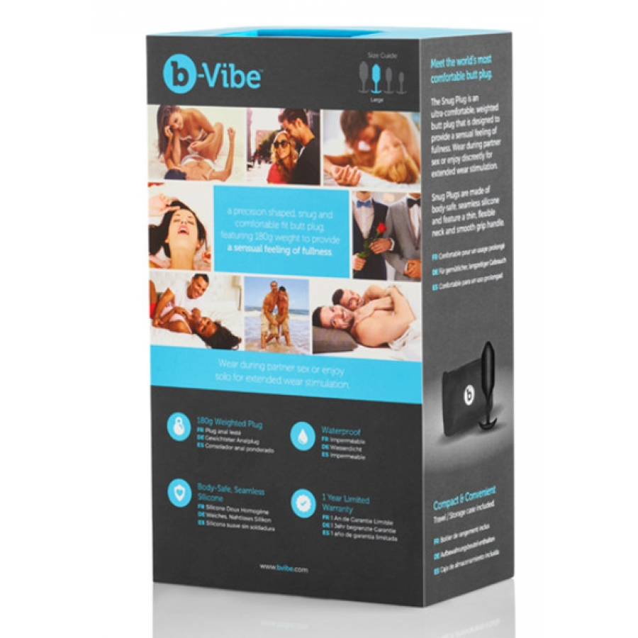 B-Vibe - Snug Plug 3 Anale Speeltjes
