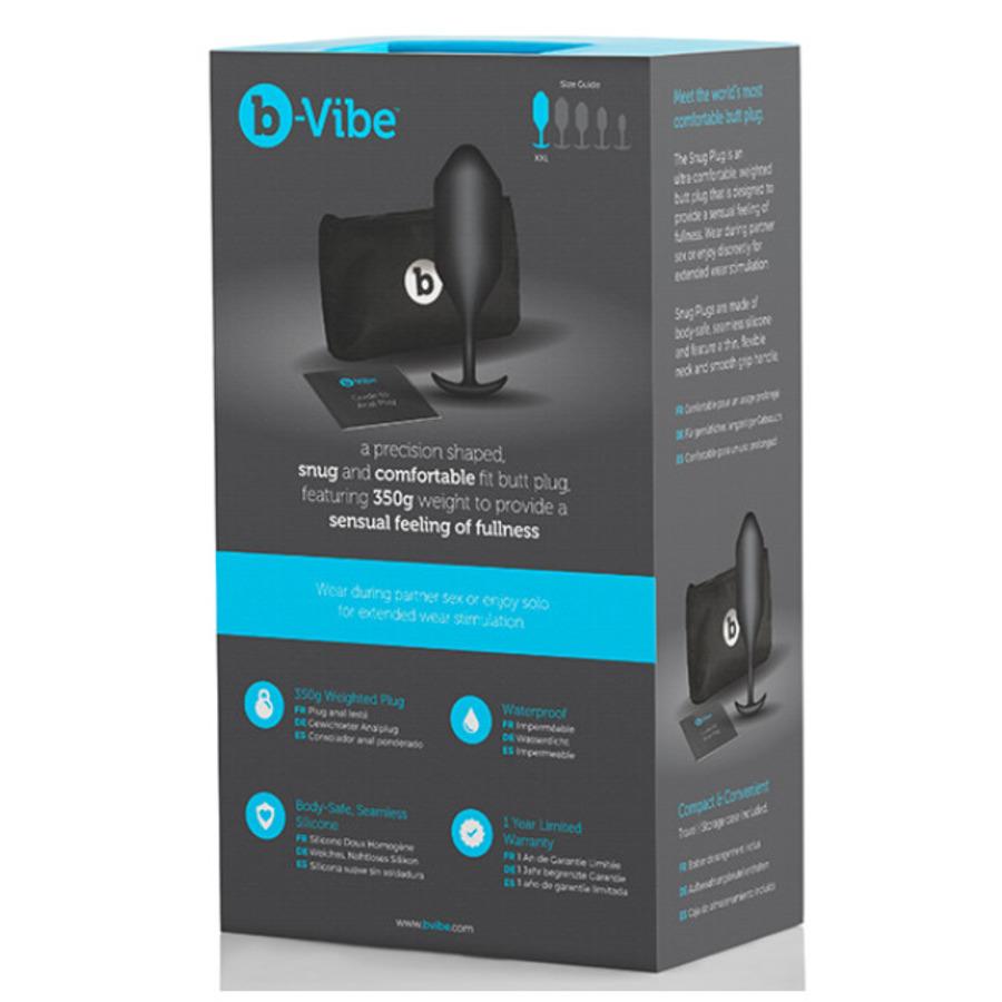 B-Vibe - Snug Plug 5 Anale Speeltjes
