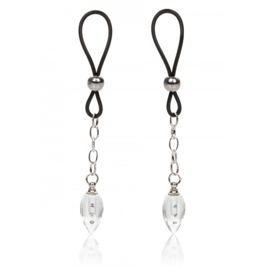 CalExotics - Nipple Jewel Crystal Teardrop SM