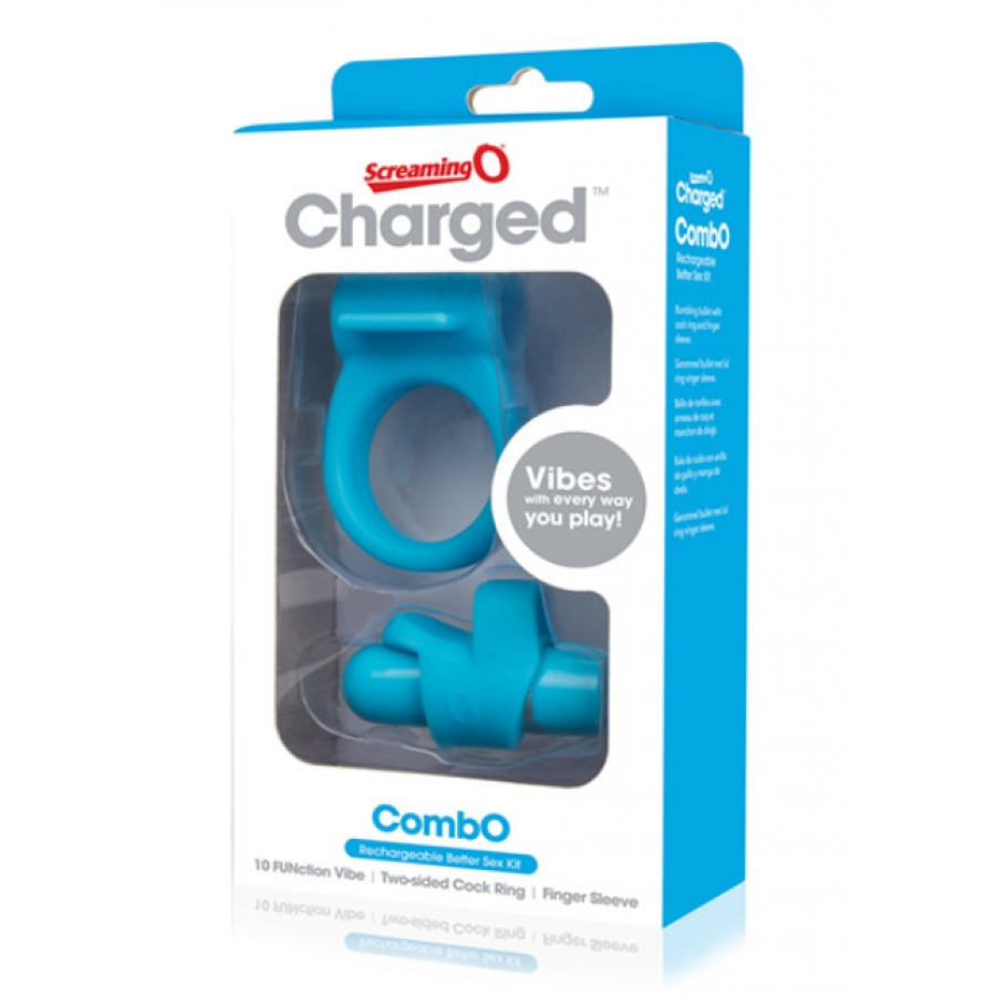 The Screaming O - Charged Combo Kit  Vrouwen Speeltjes