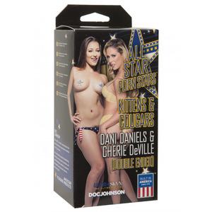 Doc Johnson - Dani Daniels & Cherie DeVille Masturbator Mannen Speeltjes