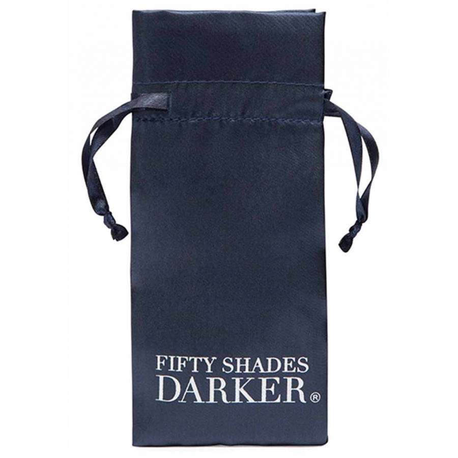 Fifty Shades Of Grey - Darker At My Mercy Beaded Chain Nipple Clamps SM