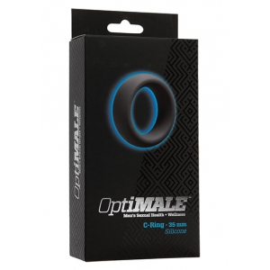 Doc Johnson - OptiMale C-Ring Slate Mannen Speeltjes