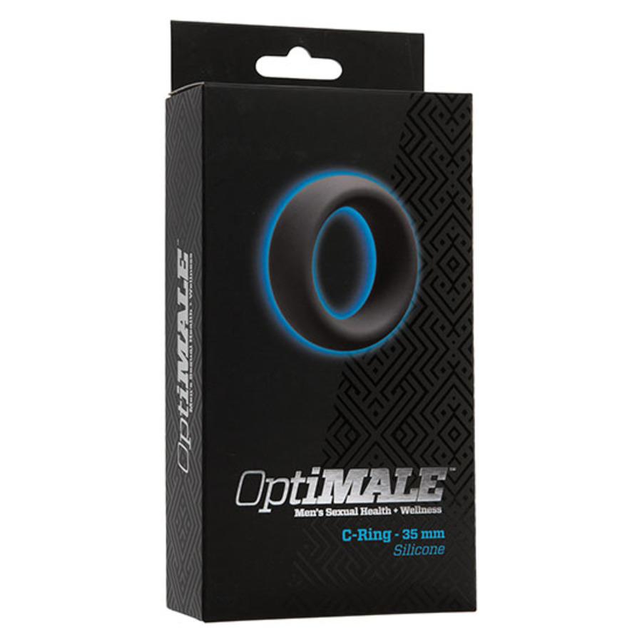 Doc Johnson - OptiMale C-Ring Slate Mannen Speeltjes