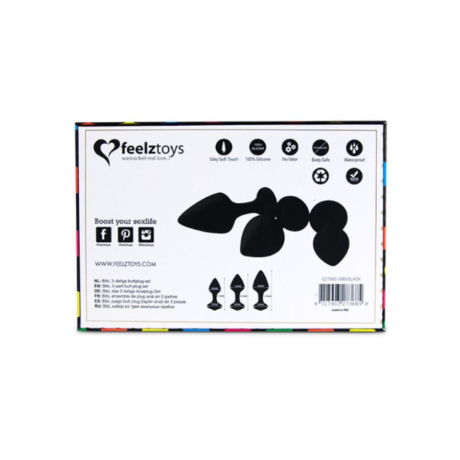 Feelztoys - Bibi Butt Plug Set Anale Speeltjes