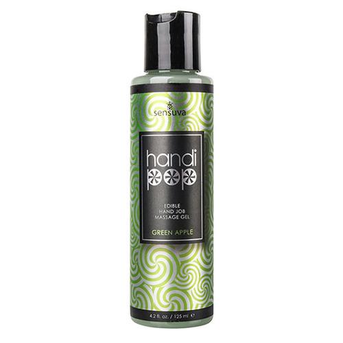 Sensuva - Handipop Green Apple Hand Job Massager Gel 125 Ml