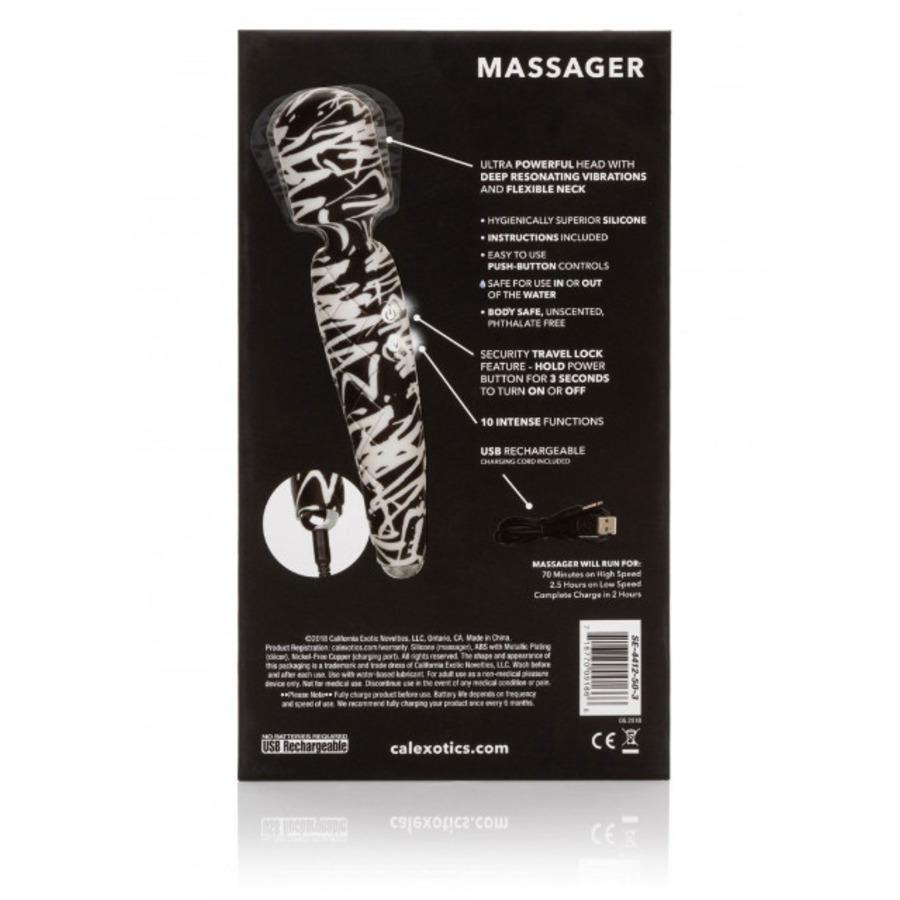 CalExotics - Hype USB-Oplaadbare Wand Massager Vrouwen Speeltjes