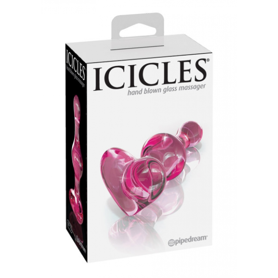 Pipedream Icicles - Glazen Butt Plug No. 75 Anale Speeltjes