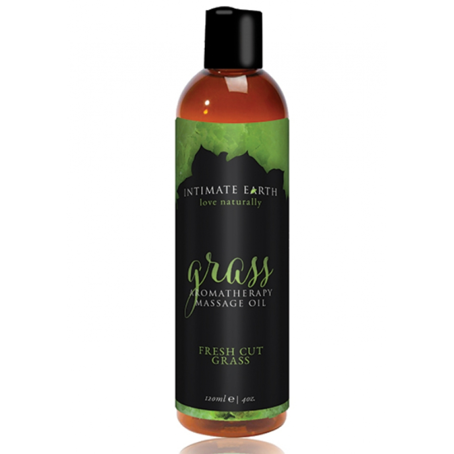 Intimate Earth - Massage Olie Gras 120 ml Accessoires