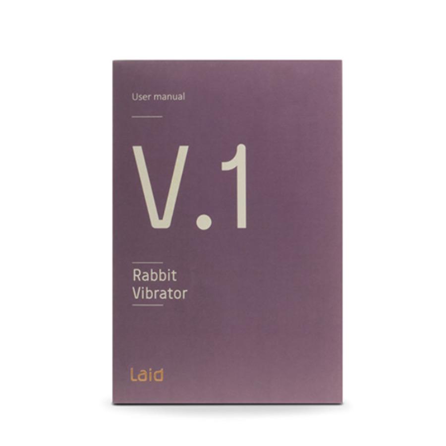 Laid - V.1 Silicone Rabbit Vibrator USB-Oplaadbaar Vrouwen Speeltjes